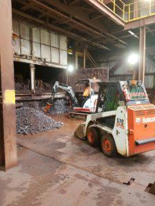 Industrial cleaning jasons bobcats illawarra