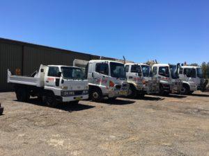Jasons Bobcats Tipper truck hire fleet