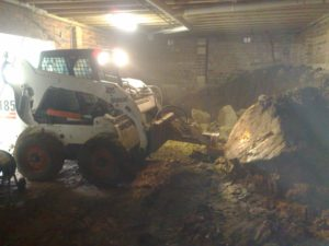 Under house excavation Jasons Bobcats Wollongong