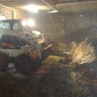 Under house excavation Jasons Bobcats Wollongong